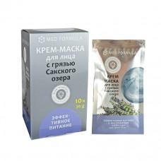 Крем-маска Эффективное питание для сухой кожи с грязью Сакского озера,1шт,30г