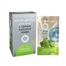 Крем-маска Глубокое очищение для жирной и комбинированной кожи с грязью Сакского озера,1шт,30г