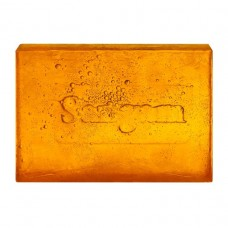 Натуральное мыло с глицерином ручной работы «Апельсин и нероли», АЮРВЕДИЧЕСКОЕ,прозрачное, 100 гр.