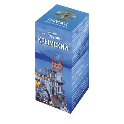 "Сироп из спирулины ""Крымский"",125 мл"